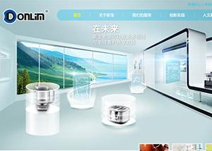 网站建设策划案例_东菱集团(广东新宝电器股份)